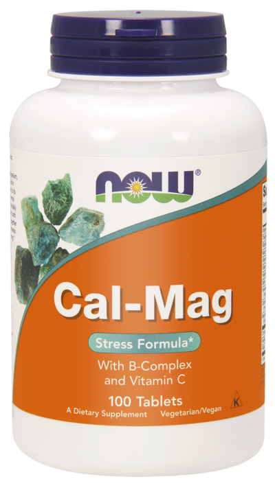 cal mag now foods 100 tabletek